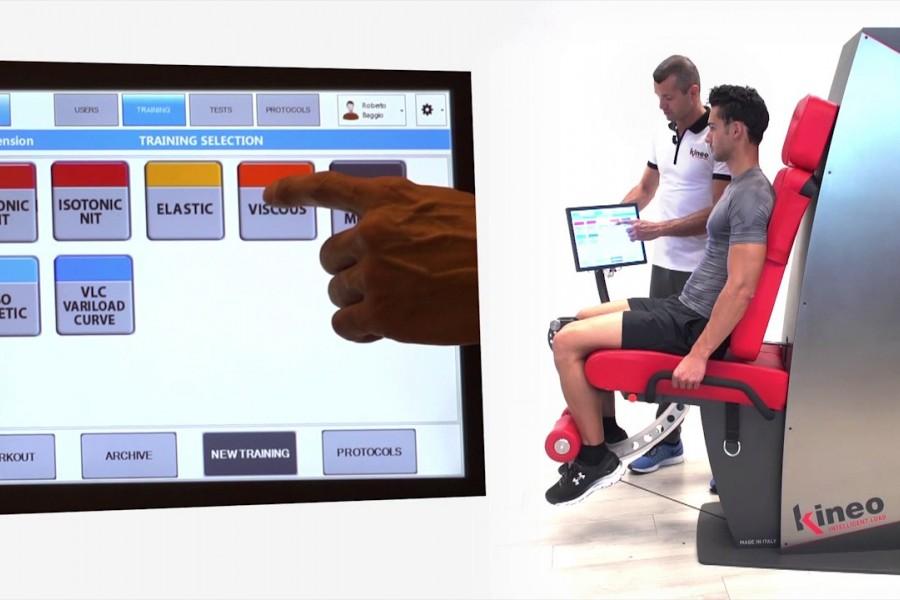 To νέο ρομποτικό μηχάνημα αποκατάστασης αθλητών, ΚΙΝΕΟ της Globus, στο SportsPhysio του Μιχάλη Σιούλη